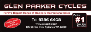 Glen Parker Logo - Small